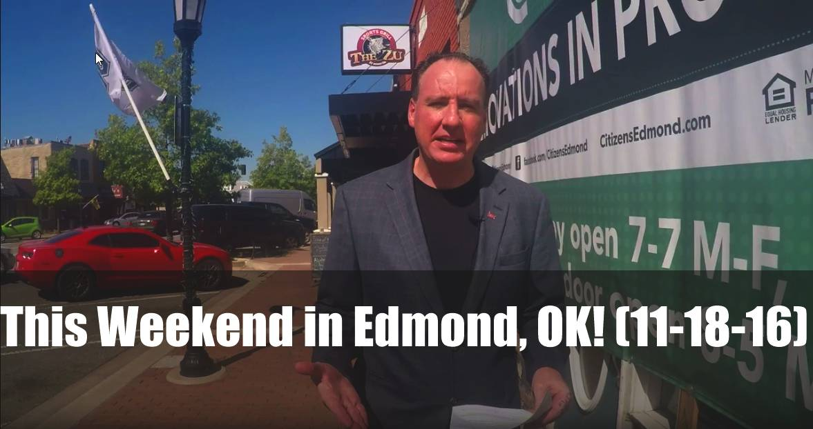 This weekend in Edmond, OK!